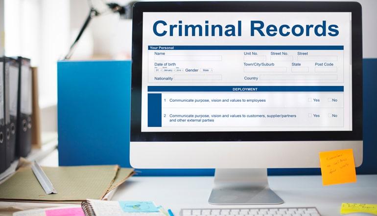 Criminal Record Check Online