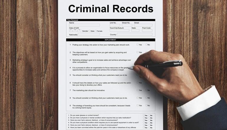 Criminal Record Check in Winnipeg, CA